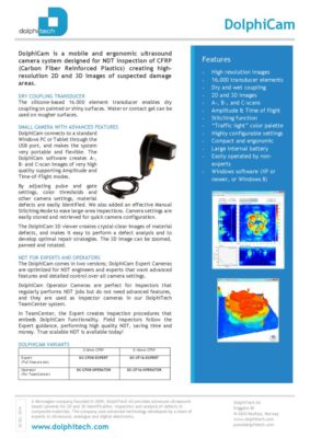 thumbnail of DolphiCam-Brochure