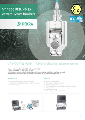 thumbnail of Ex_classified_FullHD_inspection_camera_DEKRA VT1000